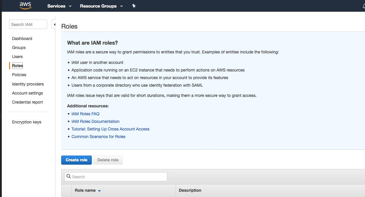 Java aws developer blog on feedspot rss feed 2 in the navigation pane choose roles baditri Gallery