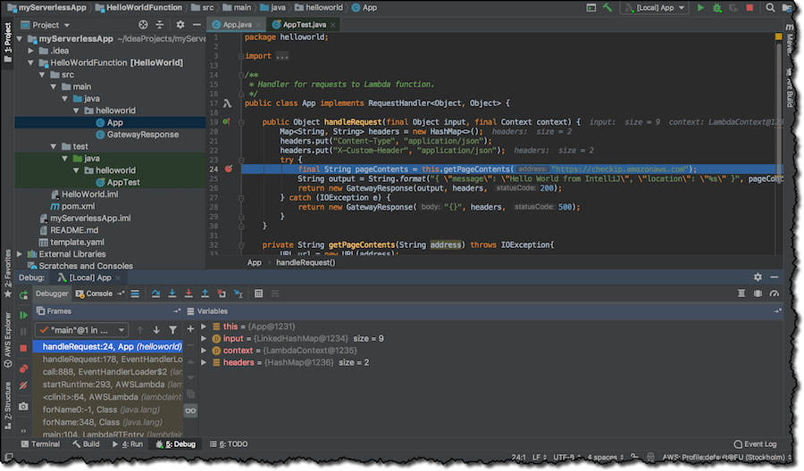 AWS Toolkit for IntelliJ – Now generally available | AWS