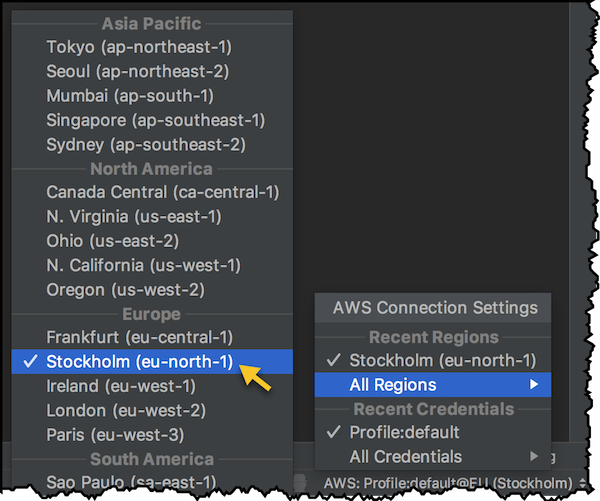 AWS Toolkit for IntelliJ – Now generally available | AWS Developer Blog