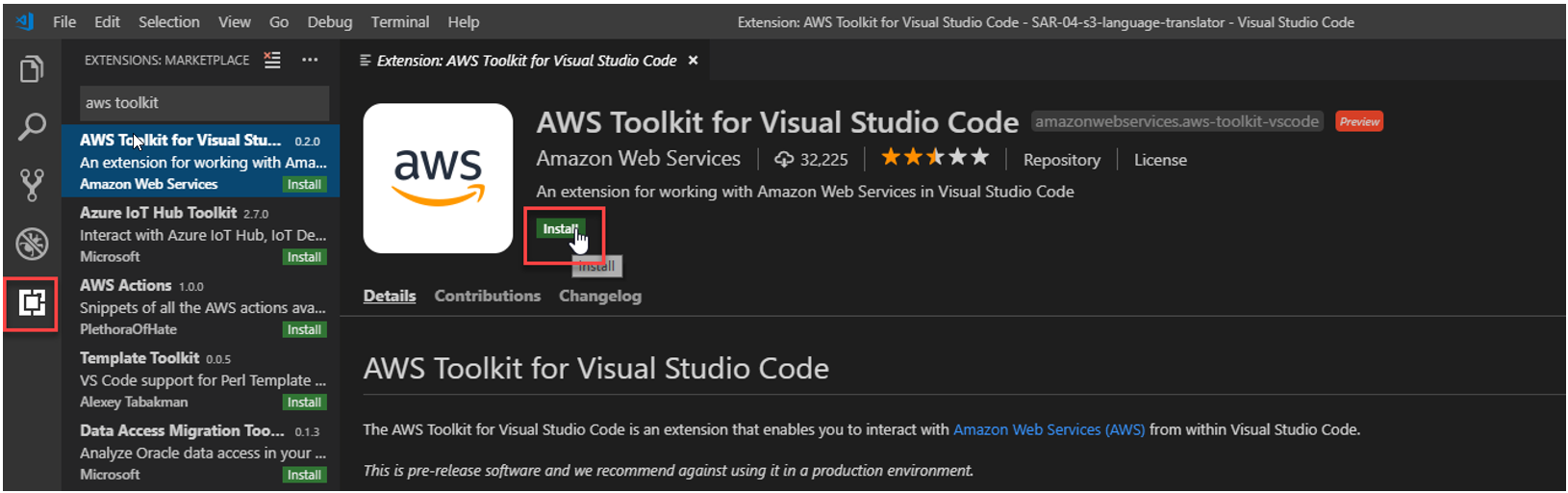 Announcing AWS Toolkit for Visual Studio Code | AWS
