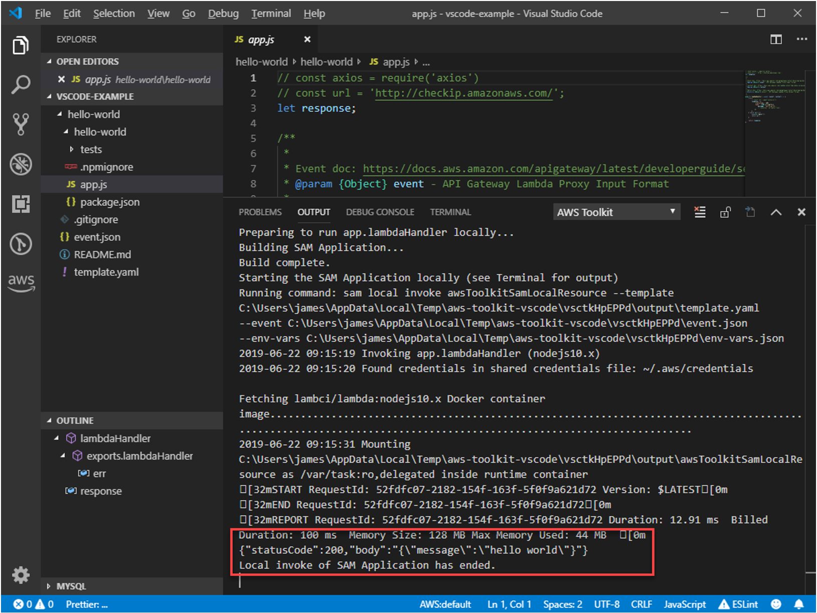 Announcing AWS Toolkit for Visual Studio Code | AWS Developer Blog