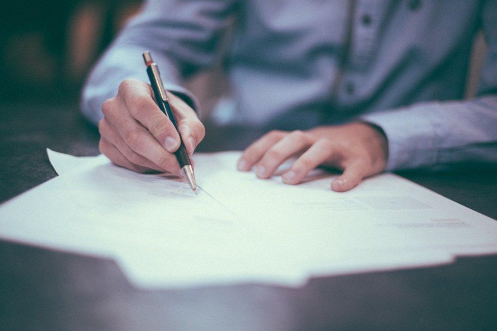 signing image
