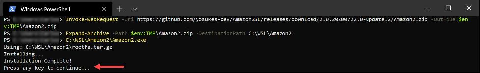 Amazon2 Distribution Registration