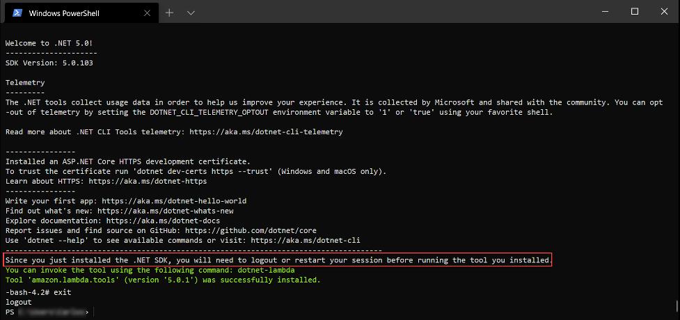 Install .NET Core on Amazon2 Distribution