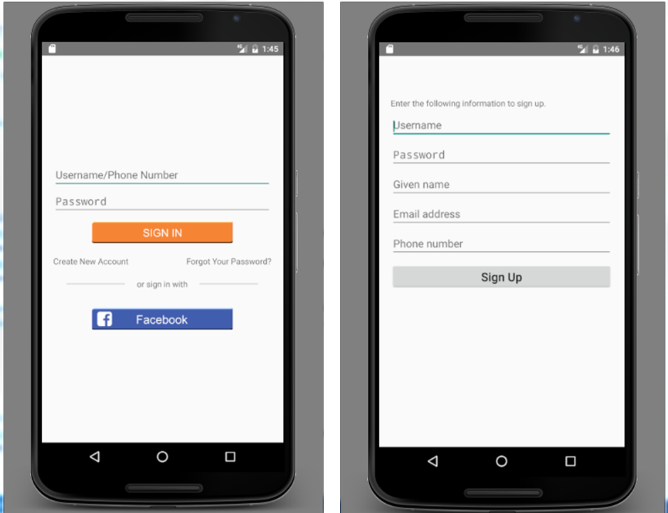 Introducing Mobile Hub user authentication using SAML