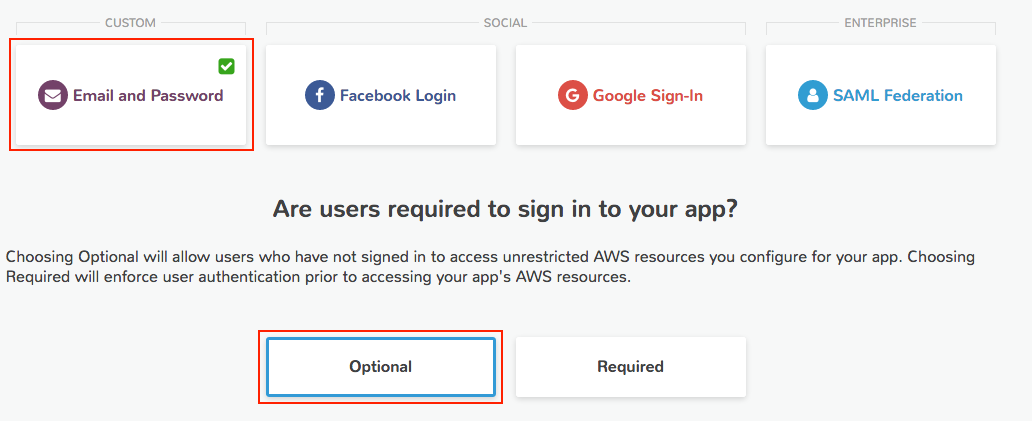 User Sign-in and Sign-up for Ionic Mobile Apps with Amazon