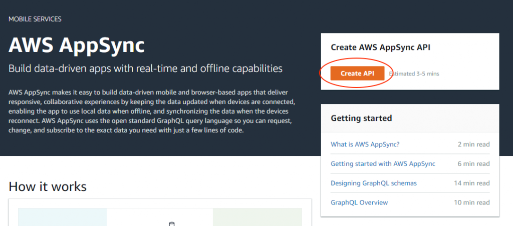 AWS AppSync releases new guided API builder | AWS Mobile Blog