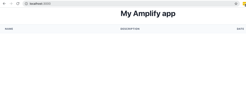 Seed data sample app screenshot