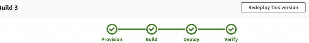 Screenshot of Build Progress