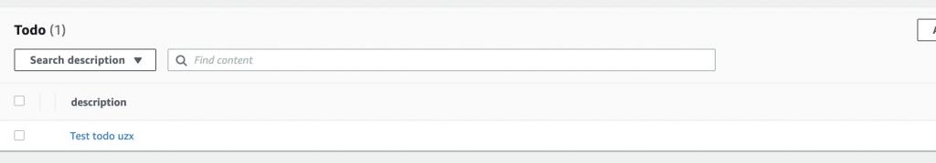 Screenshot of Admin UI's data manager
