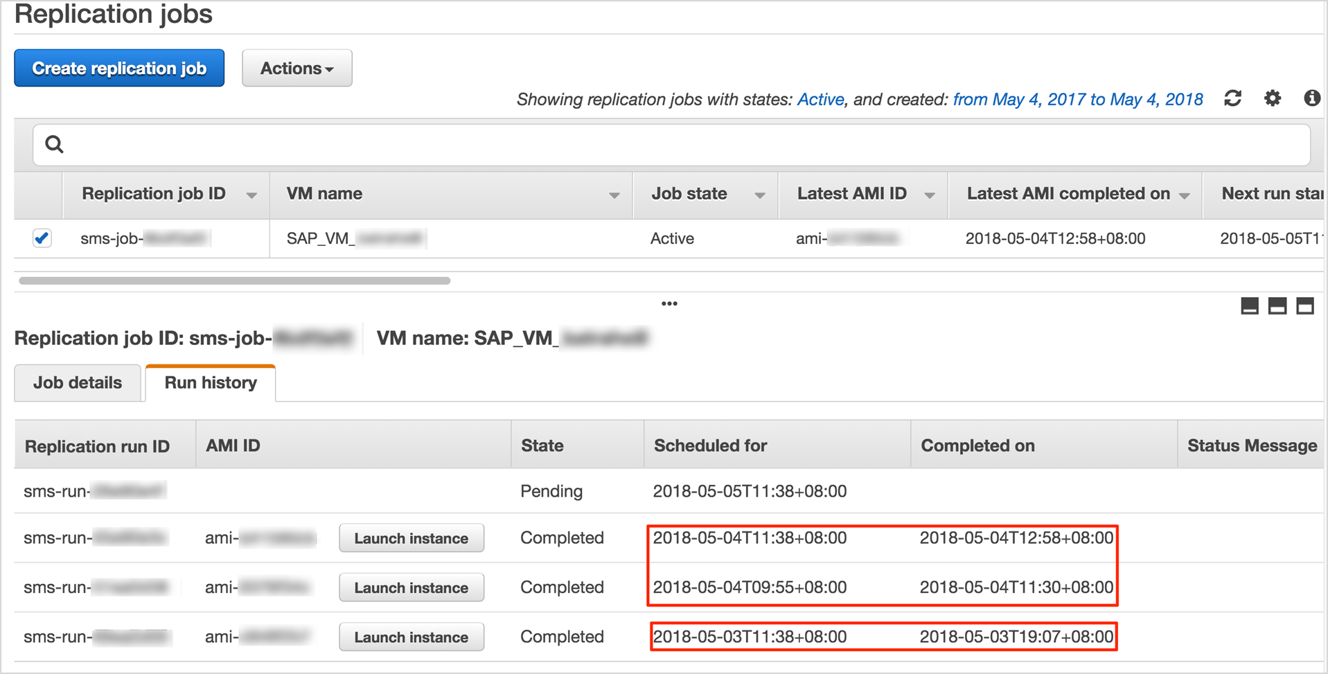 Migrating SAP Workloads to the AWS Cloud with AWS SMS | AWS