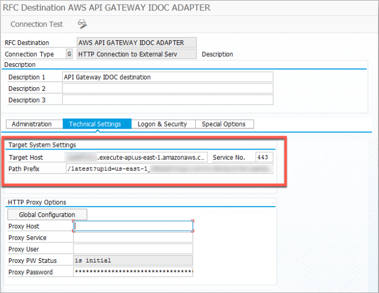SAP IDoc integration with Amazon S3 by using Amazon API Gateway