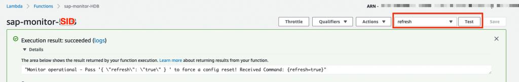 Lambda Test function