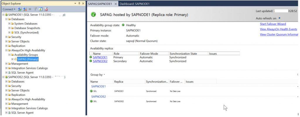 SQL AlwaysOn Setup