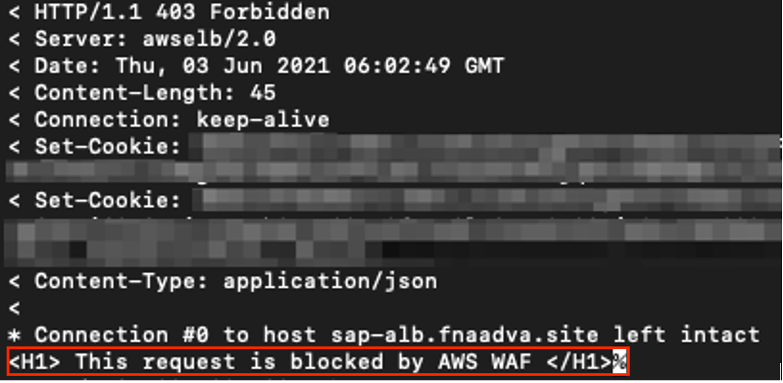 IP Deny Response