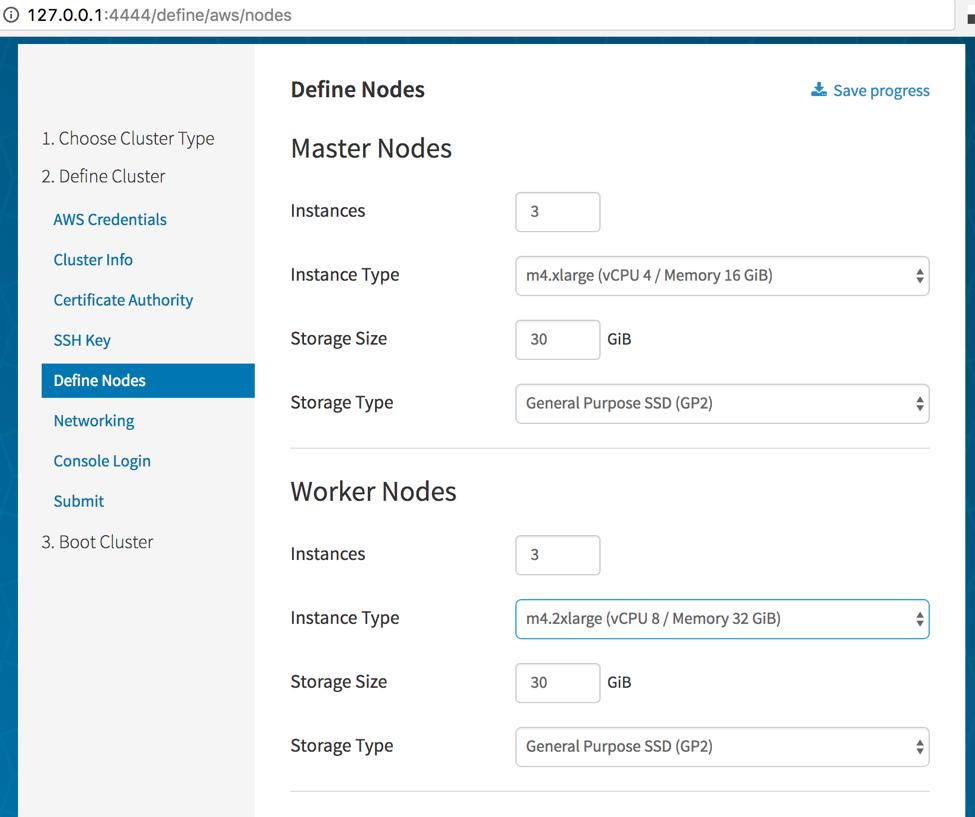 Manage Kubernetes Clusters on AWS Using CoreOS Tectonic