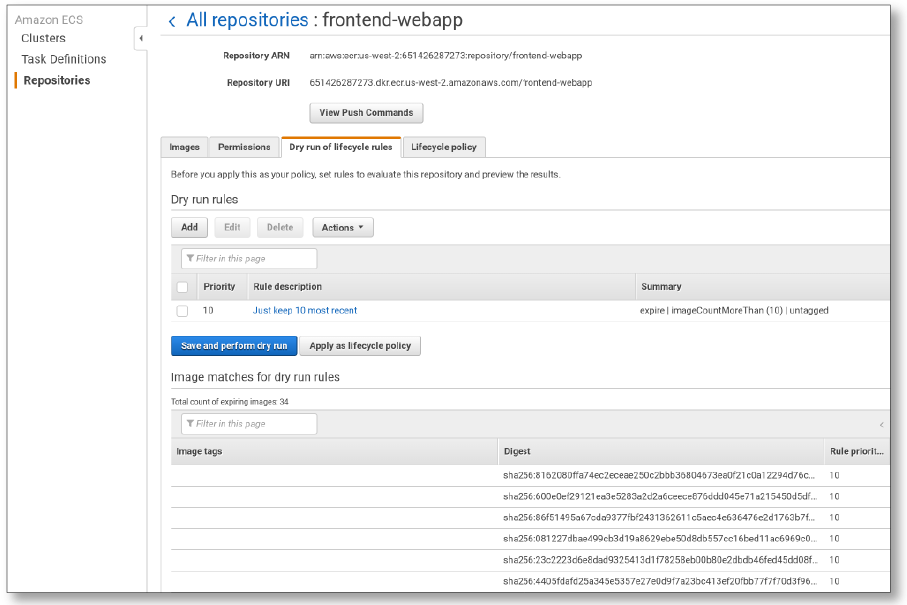 Clean up Your Container Images with Amazon ECR Lifecycle