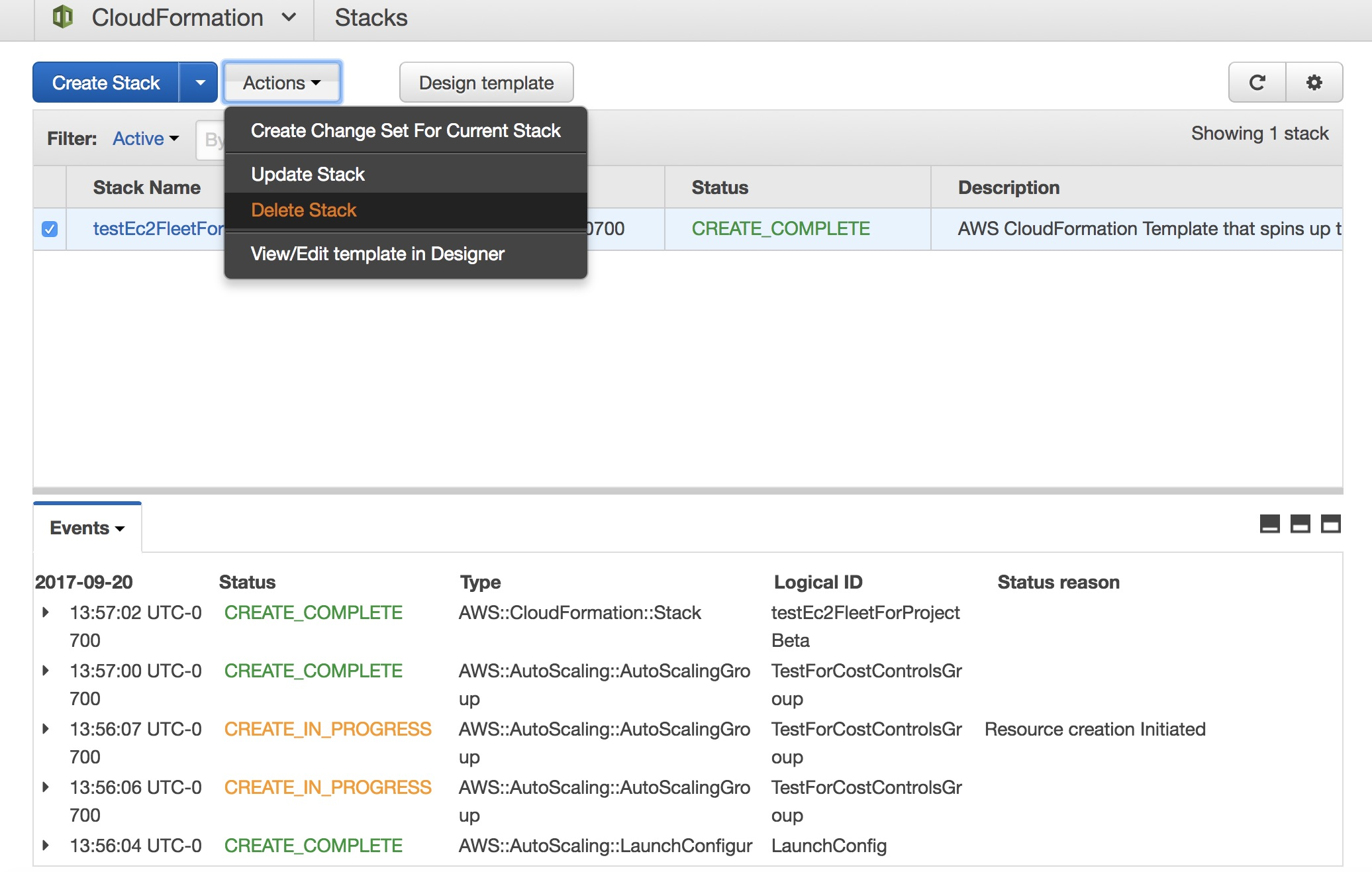 Serverless automated cost controls part1 aws compute blog delete the ec2 fleet by deleting the appropriate stack for example delete the stack named testec2fleetforprojectbeta xflitez Images