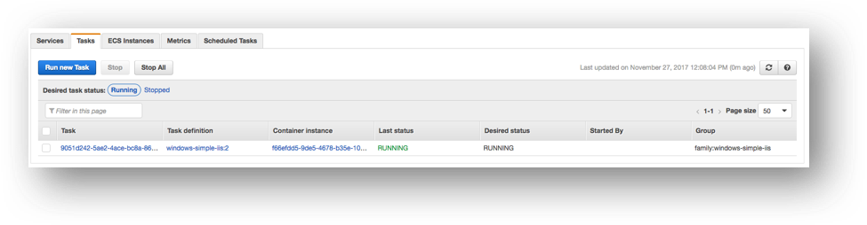 Running Windows Containers on Amazon ECS | AWS Compute Blog