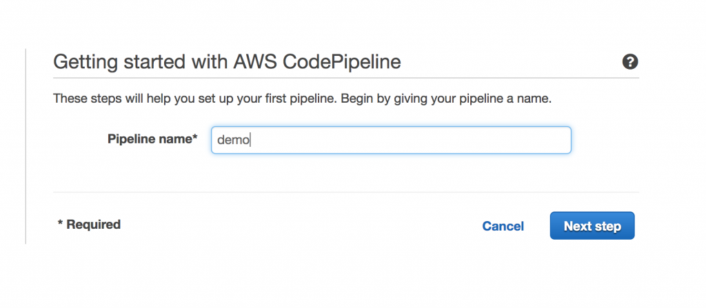 Set Up A Continuous Delivery Pipeline For Containers Using Aws