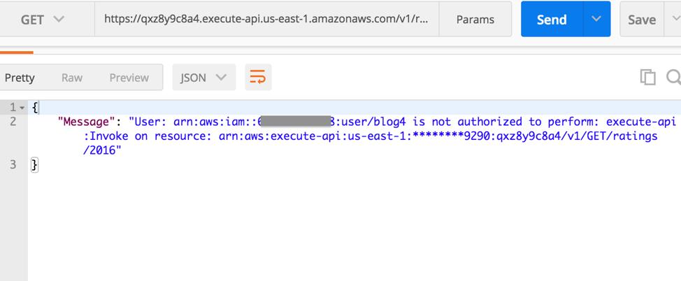 Control access to your APIs using Amazon API Gateway resource