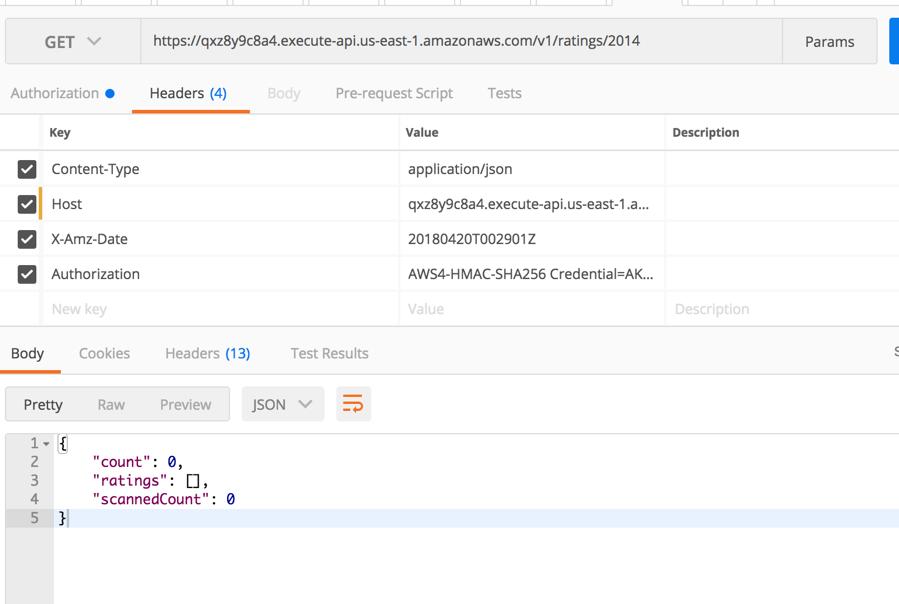 Control access to your APIs using Amazon API Gateway