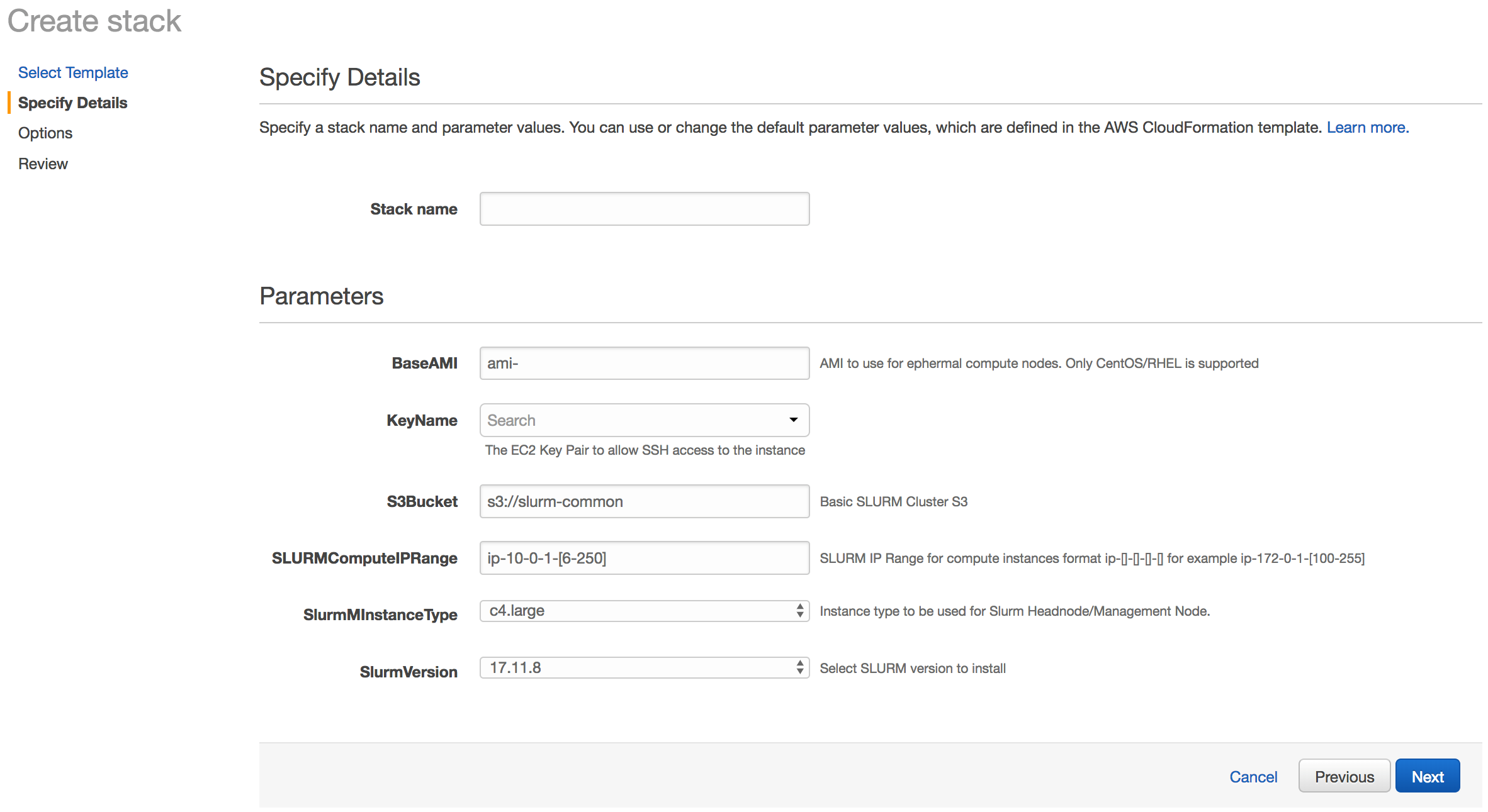 Deploying a Burstable and Event-driven HPC Cluster on AWS Using