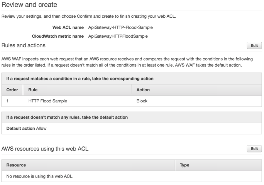 Amazon API Gateway adds support for AWS WAF   AWS Compute Blog