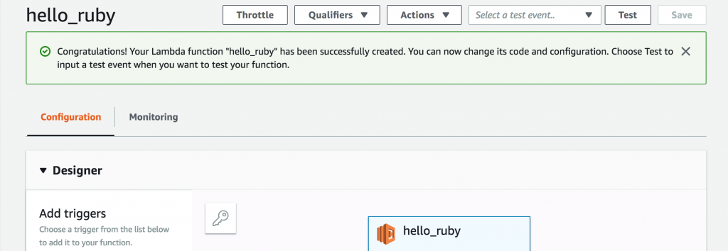 Announcing Ruby Support for AWS Lambda | AWS Compute Blog