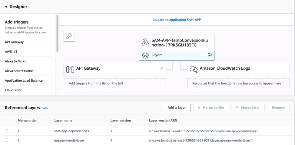 Working with AWS Lambda and Lambda Layers in AWS SAM | AWS