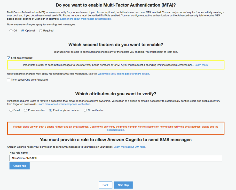 Configure Multi-Factor Authentication