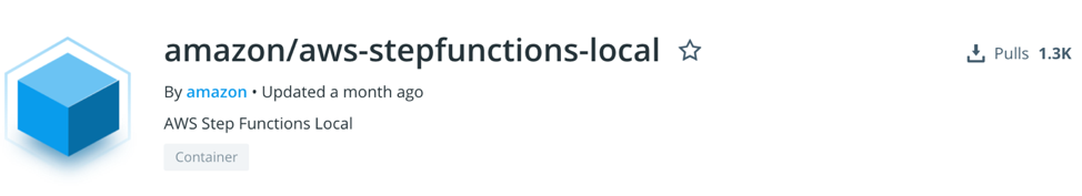 Step Functions Local