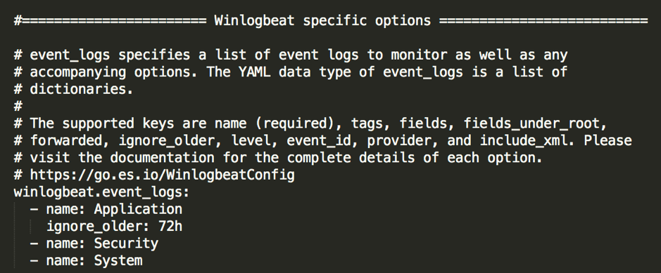 File winlogbeat.event_logs describing the log name