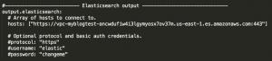 File winlogbeat.event_logs describing the Amazon Elasticsearch Service configuration