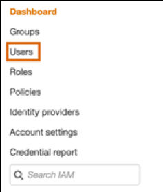 Users selection from the IM menu in WordPress