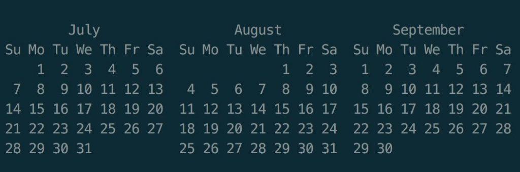 ICYMI calendar