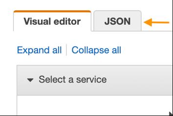JSON tab