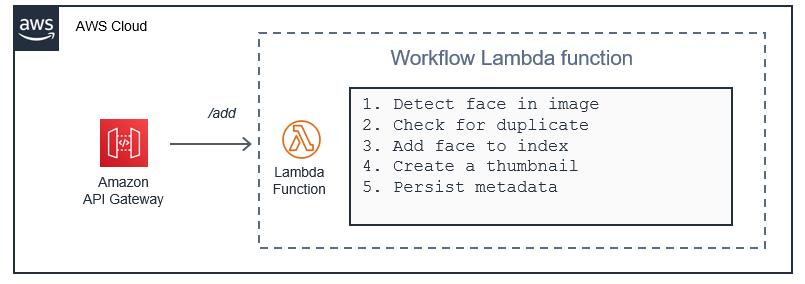 워크플로 오케스트레이션이 포함된 Lambda 함수