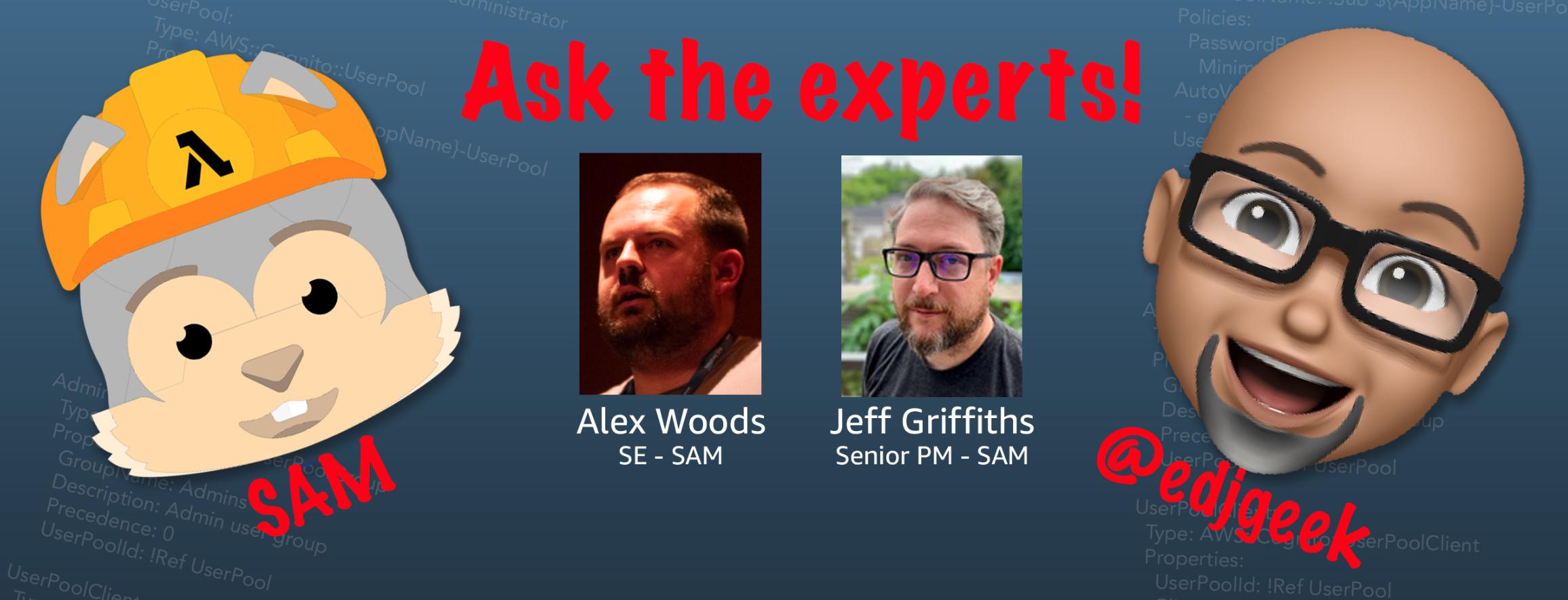 SAM experts panel