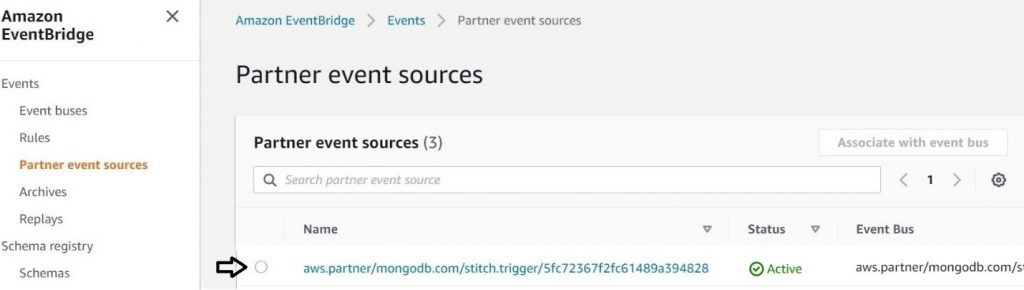 Partner event sources