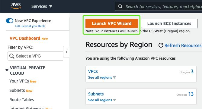 Launch VPC