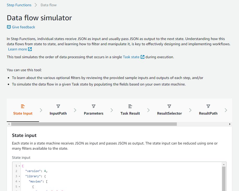 Data flow simulator