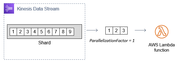 Parallelization factor of 1