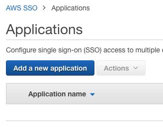 Add a new application