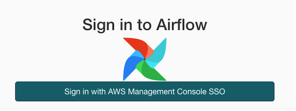 Sign in to Airflow