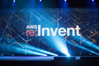 re:Invent stage photo