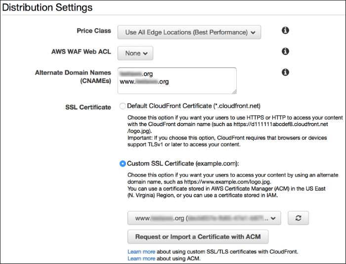 Aws Certificate Manager Noise