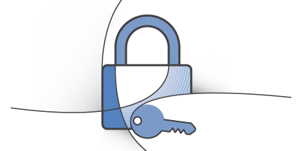 Image of lock and key