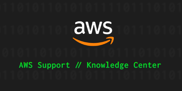 AWS Knowledge Center image