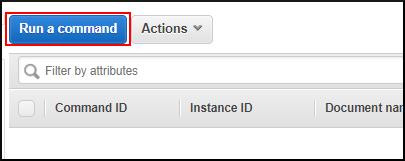 "Screenshot of choosing ""Run a command"""
